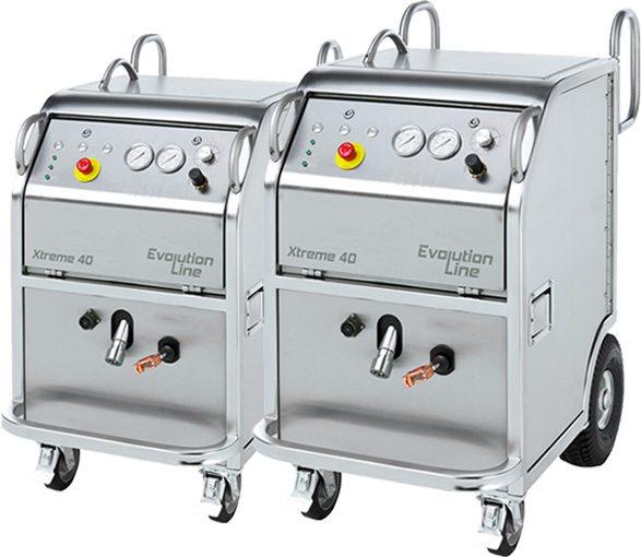 Voordelen van de KroTech droogijs reinigingmachines: